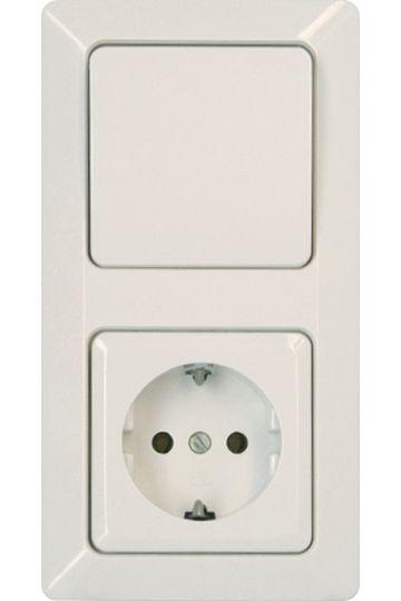 kontrollschalter a w mit glimmlampe serie milano kopp. Black Bedroom Furniture Sets. Home Design Ideas
