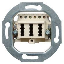 Kopp Dimmer Drehdimmer inkl Abdeckung 400 Watt Unterputz Standard arktisweiß