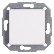 Kopp Taster Rivo beleuchtbar rein-weiß Schalter Licht Anschalter NEU