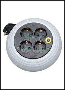 230 V - Kabelrollen
