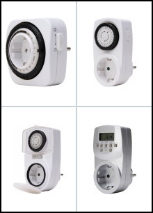 230 V - Zeitschaltuhren