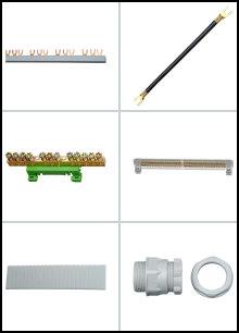 Anschlußmaterial und Zubehör für Verteilereinbau