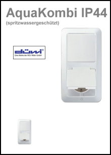 DÜWI - Serie AquaKombi IP 44