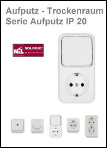 N & L - SOLOGIC - AP-Trockenraum - Serie Aufputz IP 20