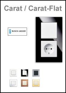 BUSCH-JAEGER - Serie Carat / Carat-Flat