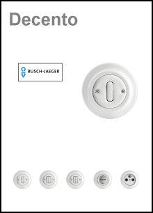 BUSCH-JAEGER - UP-Komplettgeräte - Serie Decento
