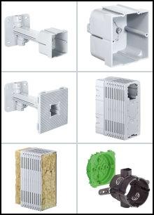Spezielle Produkte für isolierte Außen-Wände