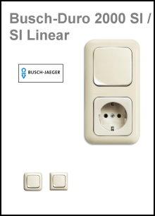 BUSCH-JAEGER - Serie Busch-Duro 2000 SI/SI Linear