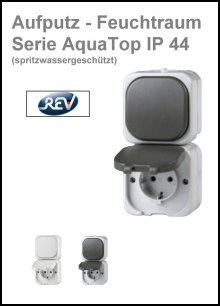 REV-RITTER - AP-Feuchtraum - Serie AquaTop IP 54