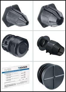 Schott Systeme - für Leitungs-/Rohr-Durch-/-Einführungen in Brandschutzwänden