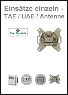GAO / EVERFLOURISH - Einsätze einzeln für TAE-, UAE- und Antenne