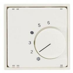 Abdeckung für Heizungstemperaturregler-Einsatz - einzeln - ohne UP-Einsatz - Serie Matrix - REV-RITTER weiß matt - (8,71 Euro)