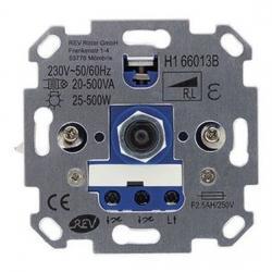 Druck-/Dreh-Helligkeitsregler-Einsatz für konventionelle Trafos - 20-500 W - REV-RITTER 25-500 W / 20-500 VA - (16,79 Euro)