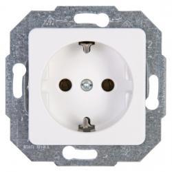 Steckdose ohne erhöhtem Berührungsschutz - Serie Europa - KOPP arktisweiß - (2,62 Euro)