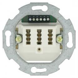 TAE-Telefon-Anschlußdosen-Einsatz - NFN-Codierung - SOLOGIC - N & L weiß - (4,96 Euro)