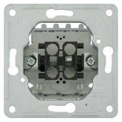 Aus-/Wechselschalter-Einsatz - SOLOGIC - N & L 10 A, 250 V - (4,25 Euro)