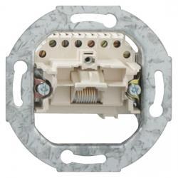 UAE-Anschlußdosen-Einsatz - 1 Steckanschluß 8(8) polig - RUTENBECK perlweiß (ähnlich RAL 1013) - (6,94 Euro)