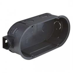 UP-Doppel-Geräte-Verbindungsdosen - Dosentiefe 42 mm - ohne Schrauben - KAISER 1 Stück - (2,57 Euro)