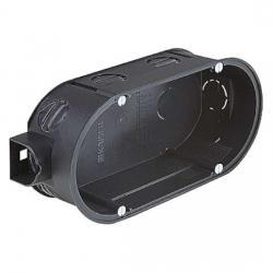 UP-Doppel-Geräte-Verbindungsdosen - Dosentiefe 42 mm - mit 4 Geräteschrauben - KAISER 1 Stück - (3,44 Euro)