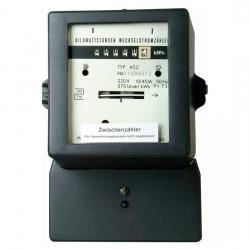 250 V AC - Wechselstromzwischenzähler, regeneriert, unbeglaubigt - KOPP 250 V AC / 10/30 A - (14,83 Euro)