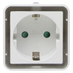 250 V Stecker/Steckdosen - LED Nachtlicht mit 2 LED´s und Tag/Nachtsensor - KOPP weiß-leuchtend - (10,02 Euro)