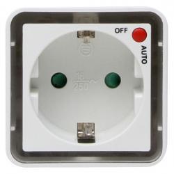250 V Stecker/Steckdosen - LED Nachtlicht mit 2 LED´s und Tag/Nachtsensor und Schalter - KOPP weiß-leuchtend - (12,12 Euro)