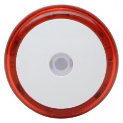 230 V Stecker - LED Nachtlicht mit 3 LED´s mit Dämmerungssensor - KOPP rot-leuchtend - (4,22 Euro)