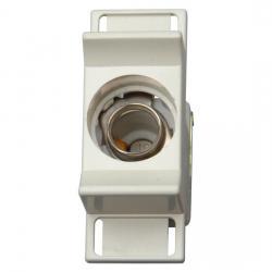 Sicherungssockel mit Schnappbefestigung - 1-polig - KOPP D 01 E14 - 2-16 A - (3,97 Euro)
