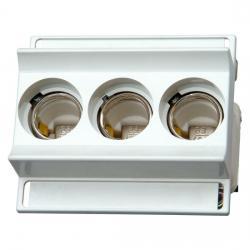 Sicherungssockel mit Schnappbefestigung - 3-polig - KOPP D 02 E18 - 16-63 A - (21,84 Euro)