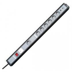 MULTIversal 7-fach mit Geräteschutz-Überspannungsfilter SAFETRONIC und Antennen-Absicherung - KOPP schwarz/silber - (46,91 Euro)