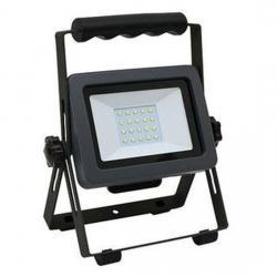 Akku - LED Strahler mit Ständer - 20 W / 1400 Lumen - REV-RITTER schwarz - (47,97 Euro)