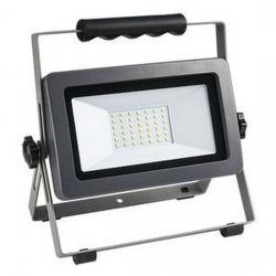 LED Strahler mit Ständer - Flare - 30 W / 2550 Lumen - REV-RITTER silber/anthrazit - (27,80 Euro)