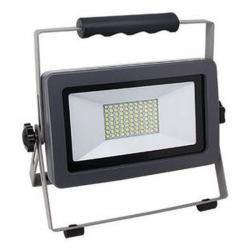 LED Strahler mit Ständer - Flare - 50 W / 4250 Lumen - REV-RITTER silber/anthrazit - (39,31 Euro)