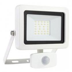 LED Strahler mit Bewegungsmelder - Flare - 20 W / 1800 Lumen - REV-RITTER weiß - (23,66 Euro)