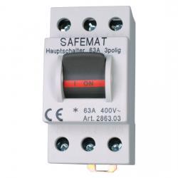 Hauptschalter - 3-polig - KOPP Nennschaltleistung: 63 A / 230/400 V AC - (20,81 Euro)