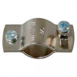 Erdungsrohrschelle für Kupferrohr mit Schutzleiteranschluss - KOPP für Rohrdurchnmesser: 21,3 mm - (1/2 Zoll) - (3,66 Euro)