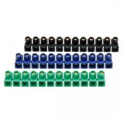 Dosenklemmleisten - 12-polig - max. 4 x 2,5 qmm - KOPP