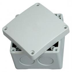 Abzweigkasten AP-Feuchtraum IP 54 / IP 65 - ohne Klemmleiste - 80 x 80 x 63 mm - KOPP 1 Stück - (4,37 Euro)