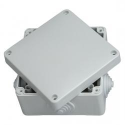 Abzweigkasten AP-Feuchtraum IP 54 / IP 65 - ohne Klemmleiste - 110 x 110 x 67 mm - KOPP 1 Stück - (7,93 Euro)