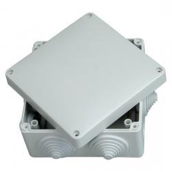 Abzweigkasten AP-Feuchtraum IP 54 / IP 65 - ohne Klemmleiste - 140 x 140 x 79 mm - KOPP 1 Stück - (14,09 Euro)