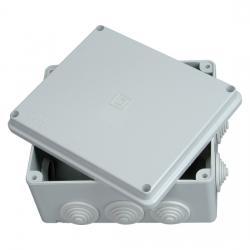 Abzweigkasten AP-Feuchtraum IP 54 / IP 65 - ohne Klemmleiste - 180 x 180 x 91 mm - KOPP 1 Stück - (18,10 Euro)