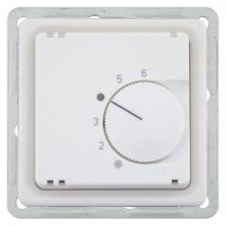 Raumtemperaturregler-Einsatz - Öffner - Serie Finesse - SOLOGIC - N & L ultraweiß - (49,48 Euro)