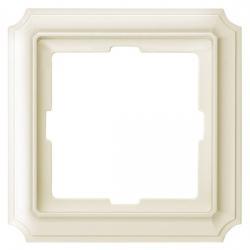 1-fach - Serie Antik-Abdeckrahmen - System Fläche - MERTEN weiß (Thermoplast glänzend) - (5,40 Euro)