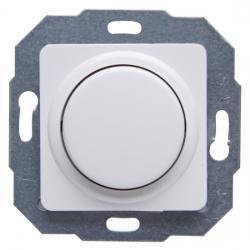 Dreh-Universal-LED-Dimmer mit Druck-Ausschalter - Phasenan-/ Phasenabschnitt - zu Serie Europa - KOPP arktisweiß - (65,57 Euro)