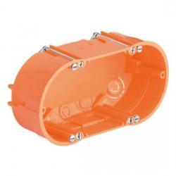 Hohlwand-Doppel-Geräte-Verbindungsdosen - Dosentiefe 47 mm - KAISER 1 Stück - (5,34 Euro)