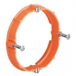 Putzausgleich-Ring für Hohlwand-Installation - für Gerätedosen und Geräte-Verbindungsdosen Außen-Durchmesser 68 mm - KAISER 10 mm Höhe - 1 Stück - (1,59 Euro)