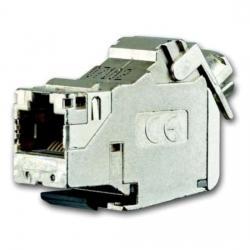 Universalmodul, RJ45, real Cat. 6a, geschirmt - zum Einbau in Montageadapter - BUSCH-JAEGER 1 Steckbuchse, 8 (8)-polig - (11,07 Euro)