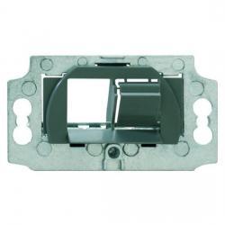 Montageadapter für Kanalmontage - zur Aufnahme von ein oder zwei Universalmodulen - BUSCH-JAEGER Für Kanalmontage - (5,53 Euro)