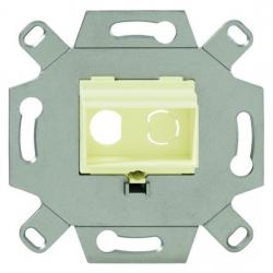 Kommunikationsadapter für Cinch-Buchsen - BUSCH-JAEGER weiß (cremefarbenes elektroweiß) - (9,22 Euro)