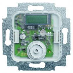 Temperaturanzeige-Raumtemperaturregler-Einsatz - mit Öffnerkontakt und Nachtabsenkungsanschluss - BUSCH-JAEGER 10 A / 230 V - (122,77 Euro)